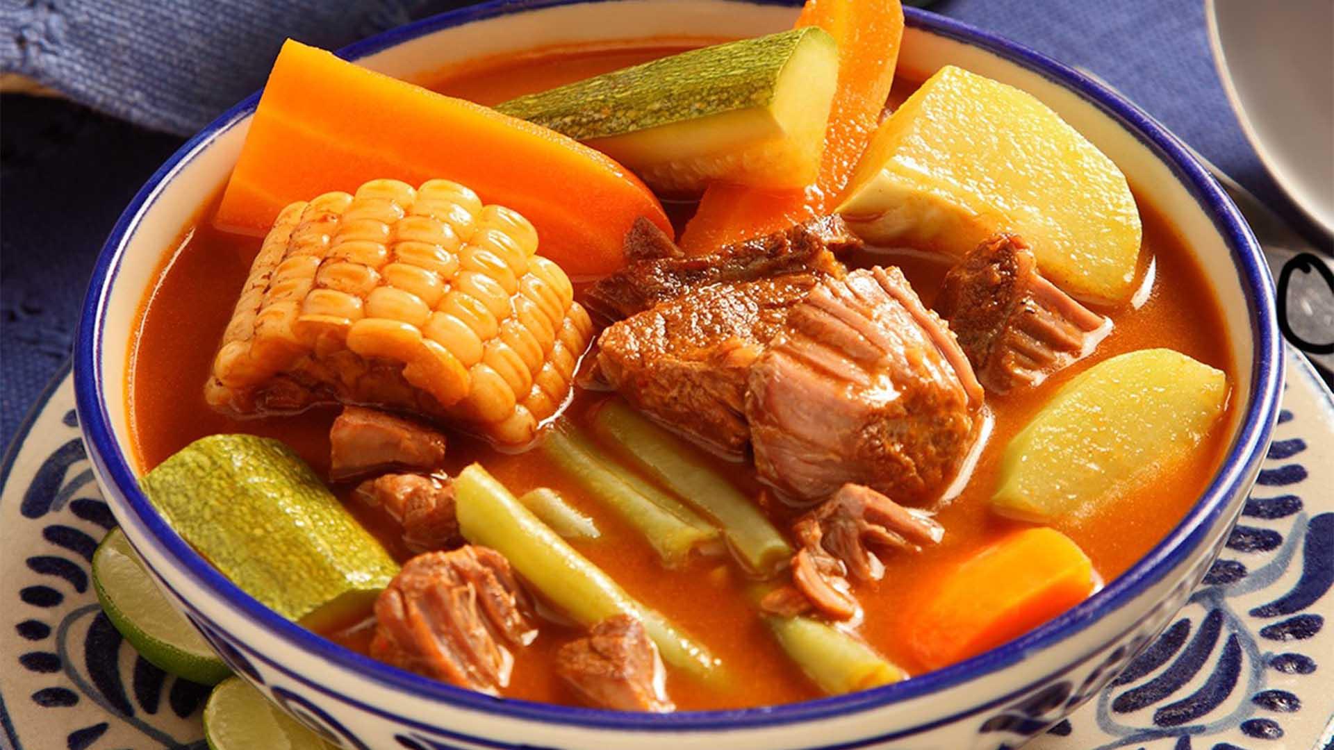 Comida mexicana mole