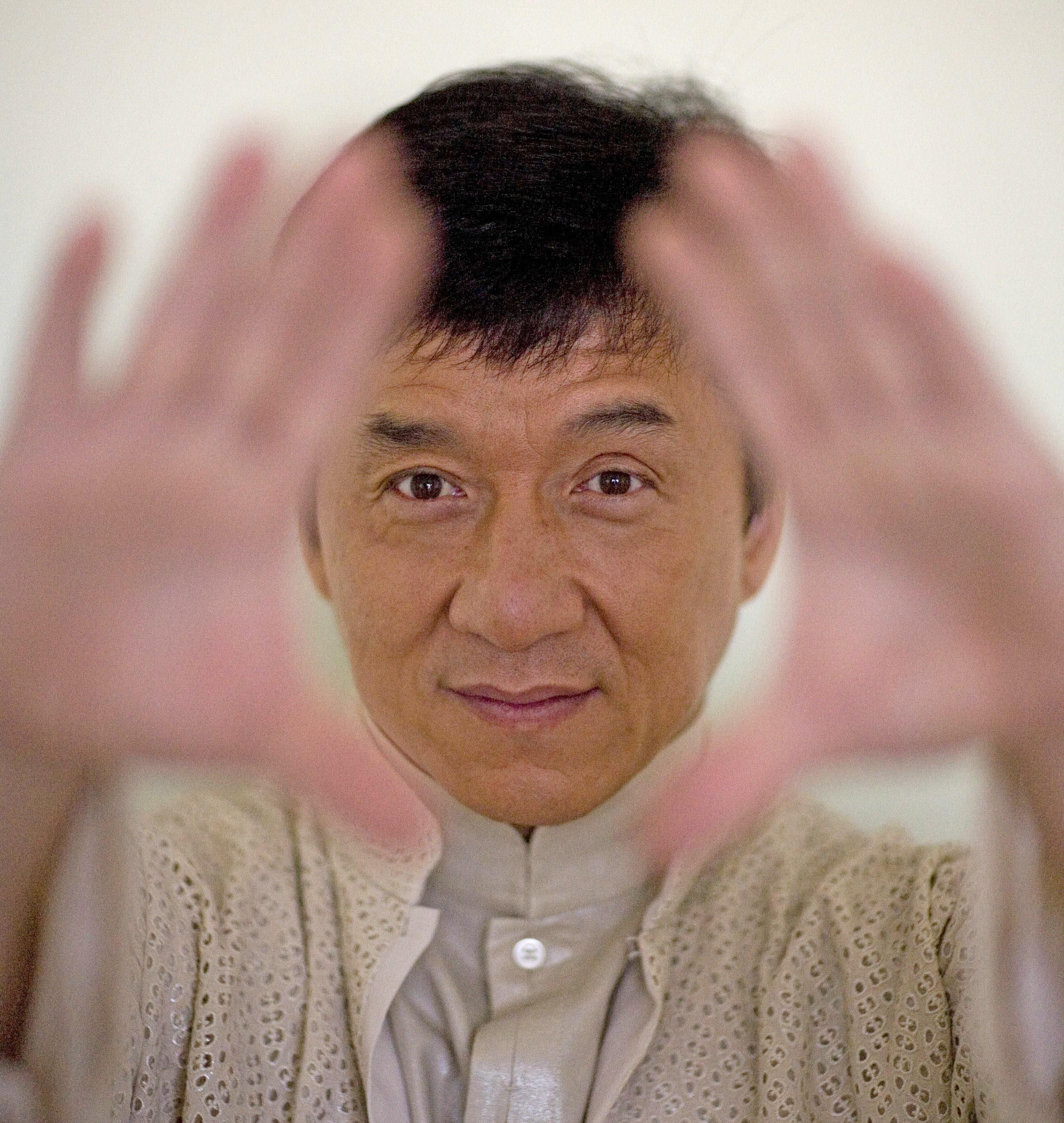 Jackie Chan, el trabajador constante