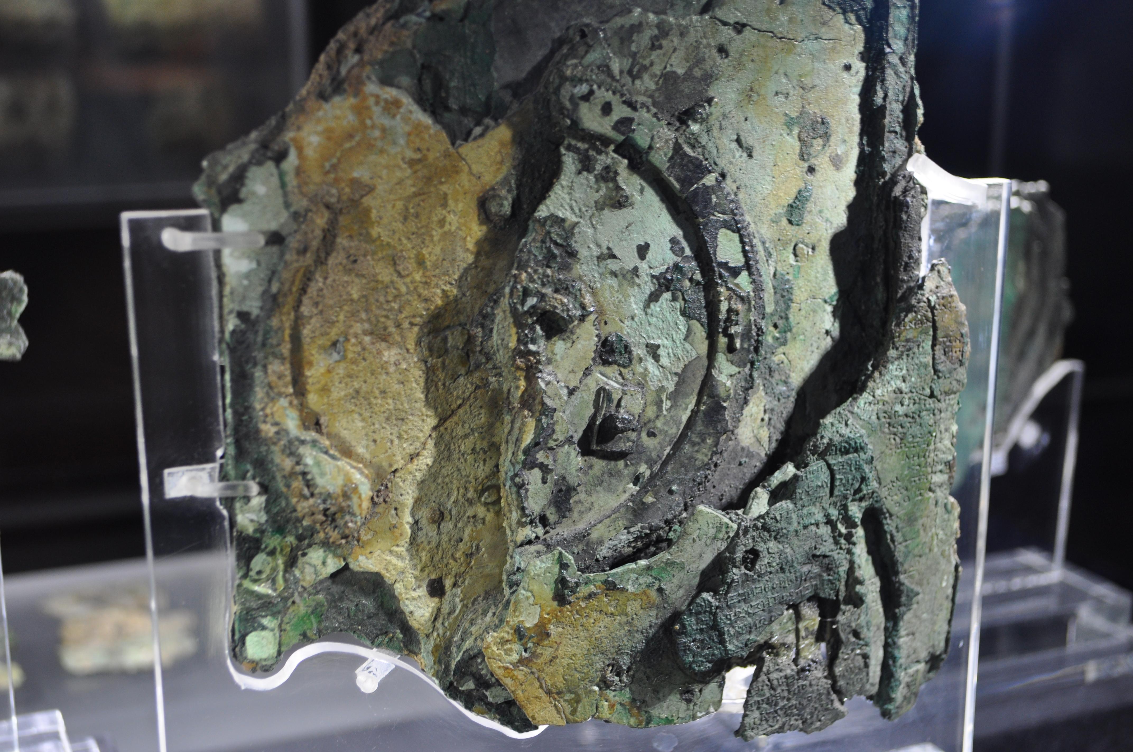 Encuentran restos humanos en el barco que contenía el mecanismo de Anticitera