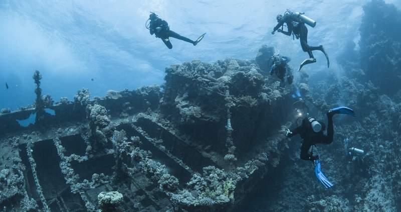 Arqueología subacuática patrimonio en peligro por los cazatesoros