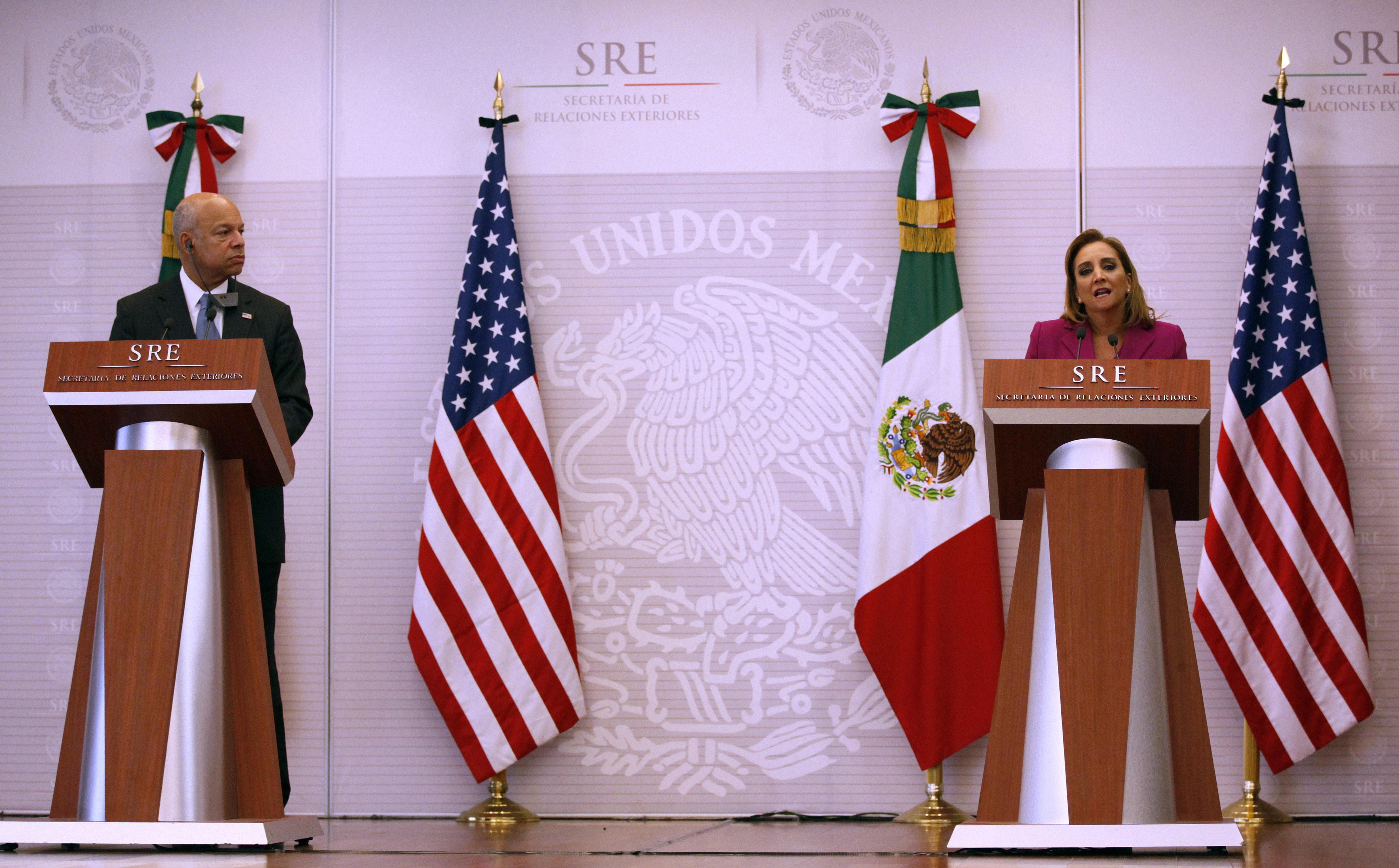EEUU y México buscarán nuevas formas de afrontar retos en materia migratoria