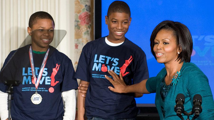 Michelle Obama se forja un legado contra la obesidad infantil