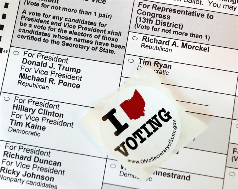 Inicia votación de las elecciones para presidente en EE.UU.