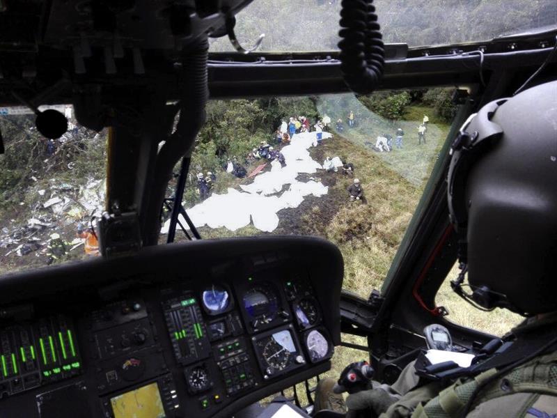 """""""Ayúdenos, ayúdenos"""" fueron las últimas palabras de los pilotos del Chapecoense"""