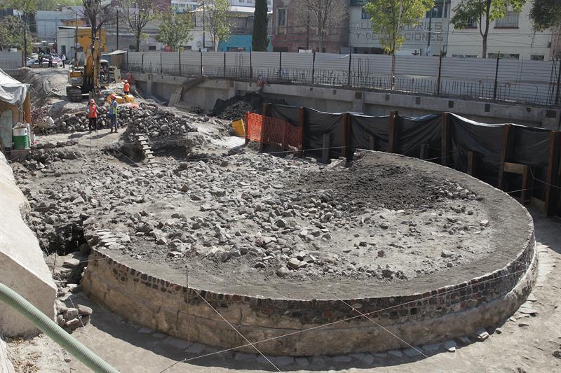 Hallazgo de templo prehispánico en Tlatelolco