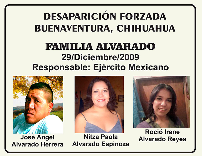 La CIDH presenta ante la CorteIDH el caso de la desaparición forzada de la familia Alvarado