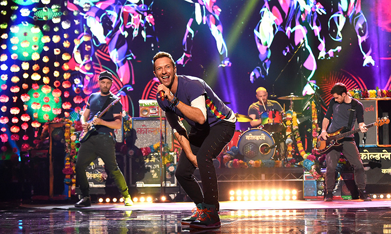 """A Head Full of Dreams"" gira de Coldplay ganá: Ticket Of The Year 2016"