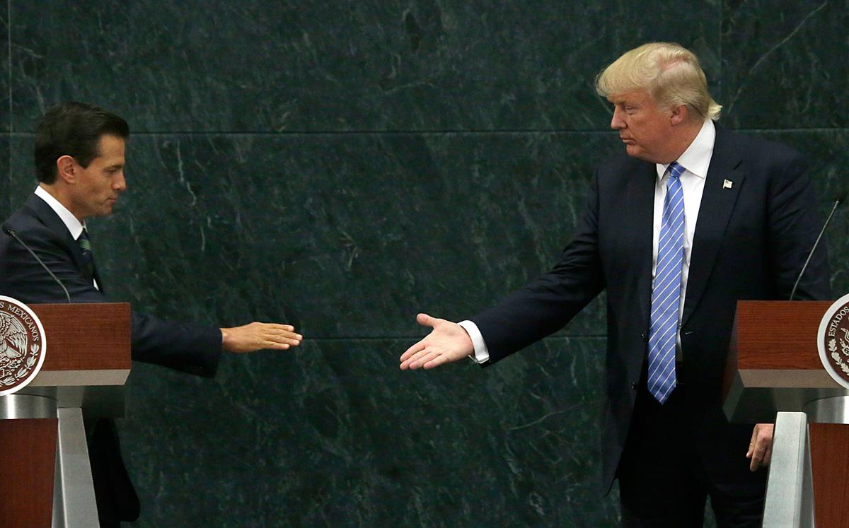 La economía mexicana es arrasada por el 'huracán Trump'
