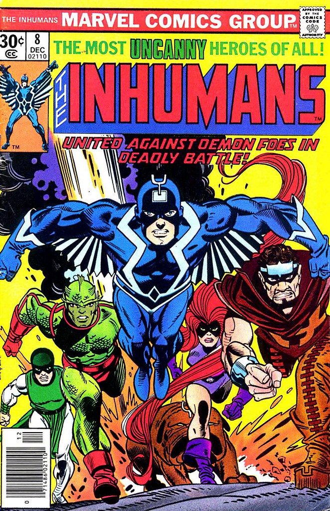 """Nueva serie de Marvel """"The Inhumans"""" se extrenará en 2017"""