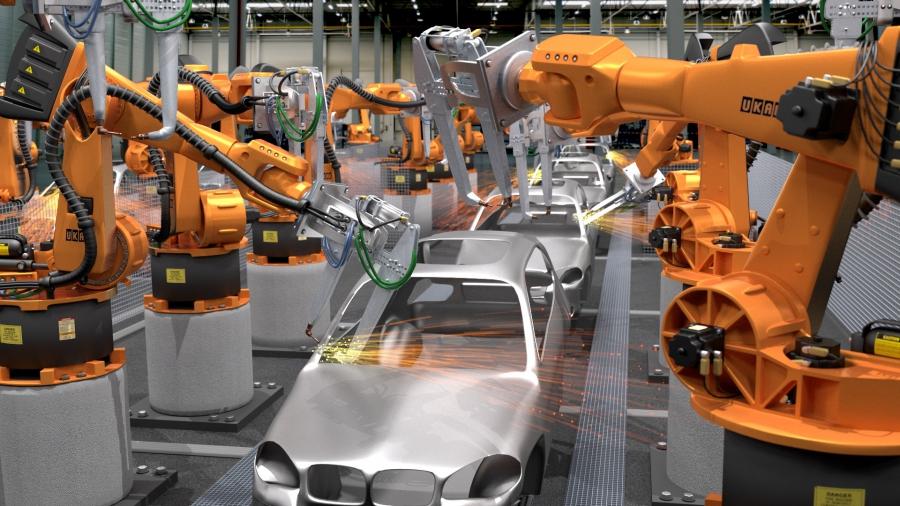 La era de los robots industriales en los países en desarrollo