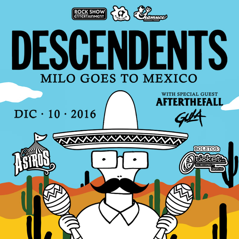 Descendents por primera vez en MEXICO