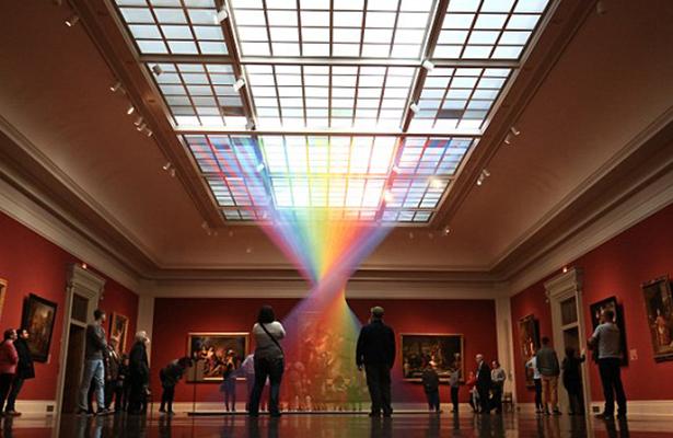 Mexicano expone arcoiris en Museo de Arte en Ohio