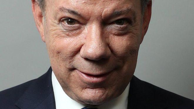 Juan Manuel Santos recibe el Premo Nobel de la Paz