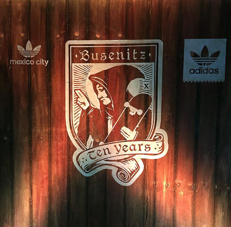 Adidas Skateboarding y Busenitz echan la casa por venta