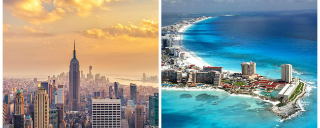 Mexicanos prefieren Cancún y NY para pasar fin de año