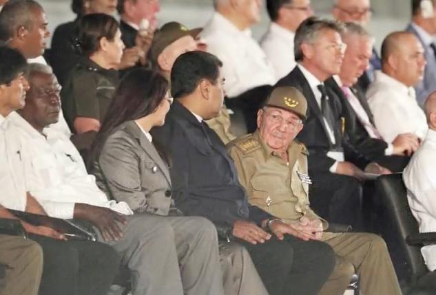 El adiós a Fidel Castro