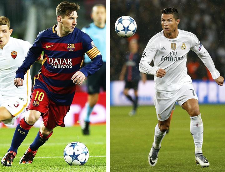 Cristiano contra Messi, comparativa después del clásico