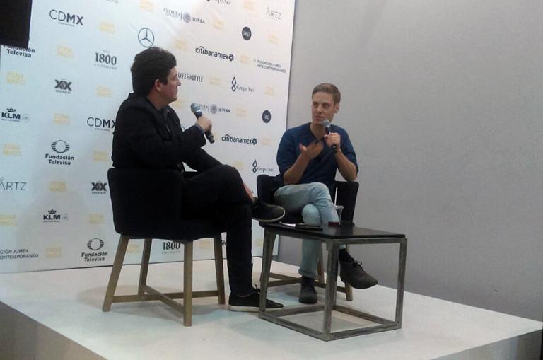 Artist Talk con John Houck en Zona Maco