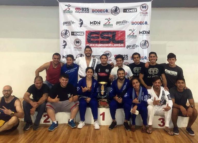 Bujutsu campeón del gran prix ESL por equipos