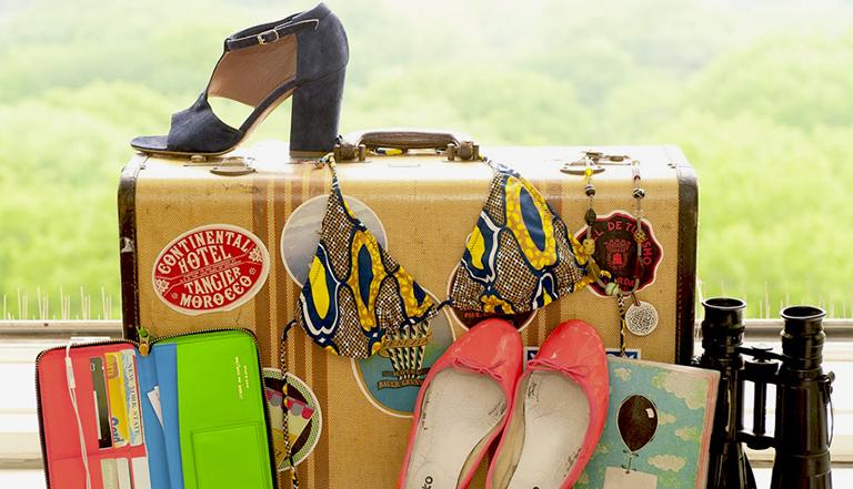 ¿Cómo mantener el glamour durante todo momento mientras viajas?