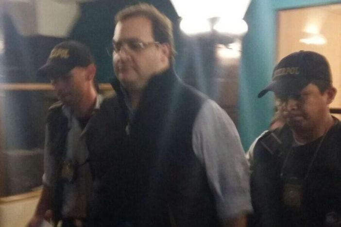 Javier Duarte capturado en Guatemala