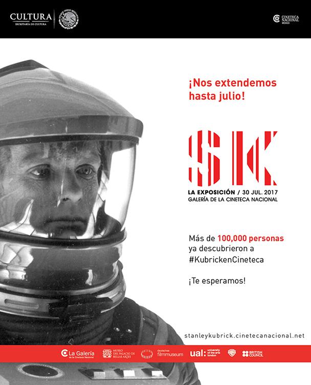 La Cineteca Nacional mantiene la odisea de Stanley Kubrick hasta el mes de julio