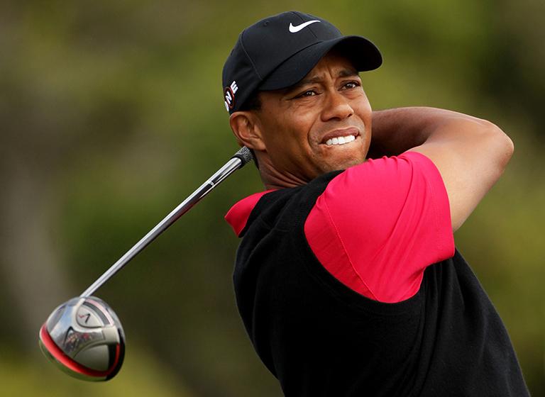 Tiger Woods en problemas