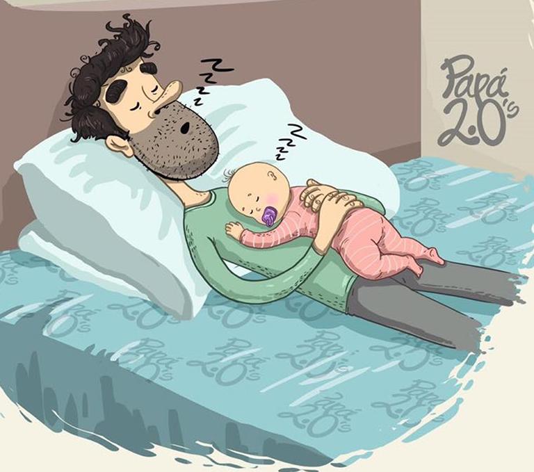 Día del padre: Las nuevas paternidades