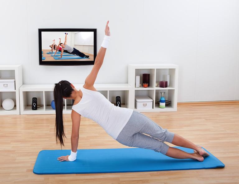 Cómo hacer ejercicio con ayuda del internet