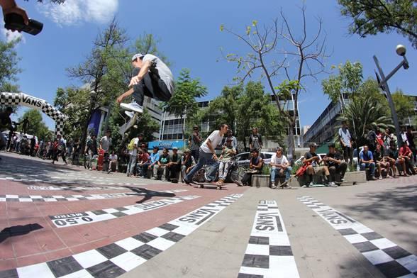 Así Guanatos festejó el Go Skateboarding Day