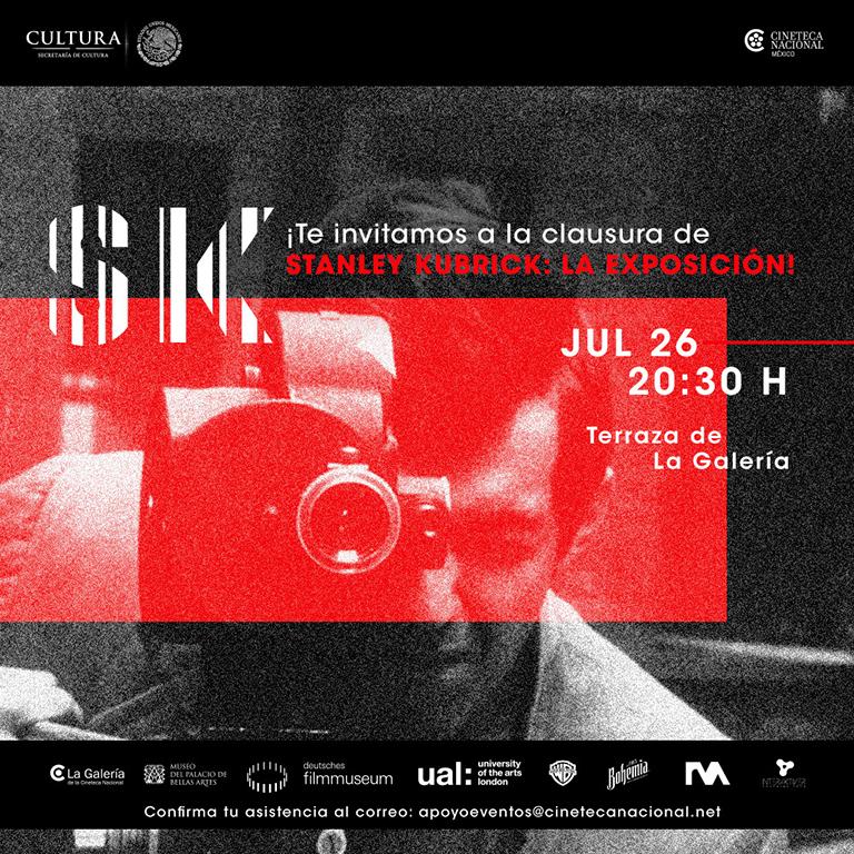 ¡Todos a la clausura de 'Stanley Kubrick: la exposición'