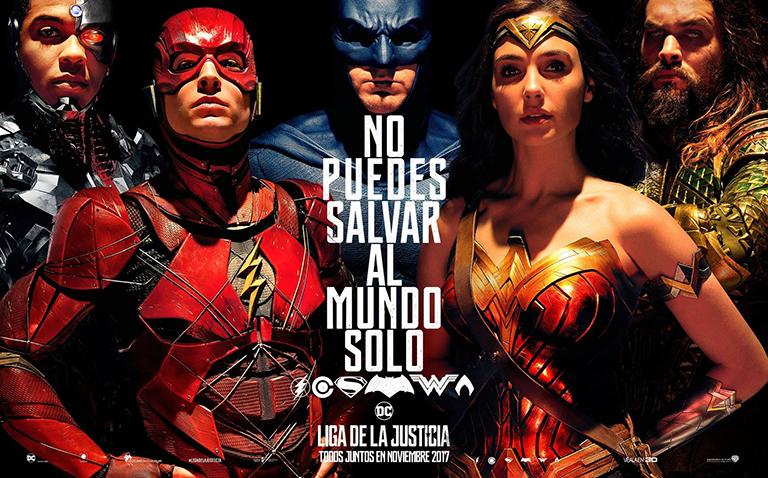 ¡Lanzan tráiler de la nueva película de 'Justice League'!