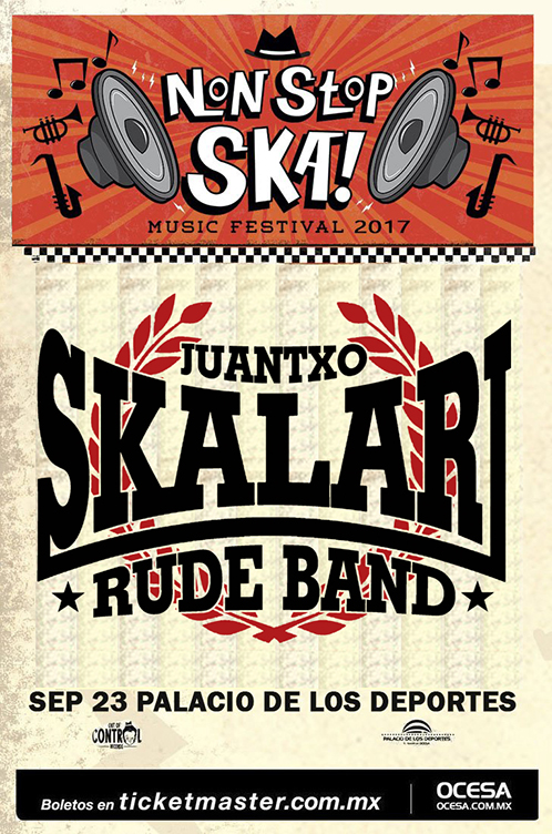 Juantxo Skalari encabezará el 'Non Stop Ska Music Festival'