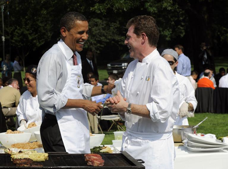 El reto del chef de la familia Obama