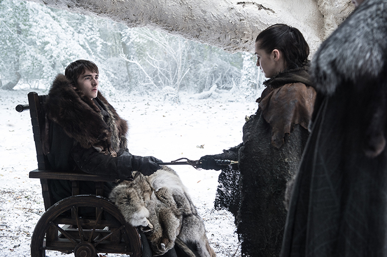 El cambio de 'Bran Stark' en Game of Thrones