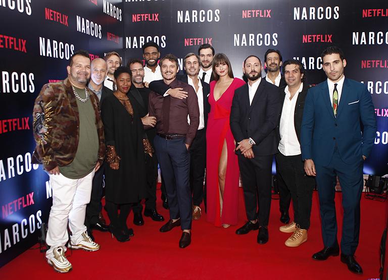 La fiesta de despedida de 'Narcos' en Bogotá