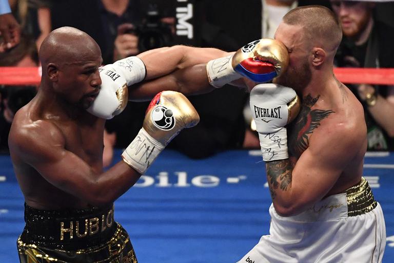 Todos ganaron en la pelea Mayweather-McGregor