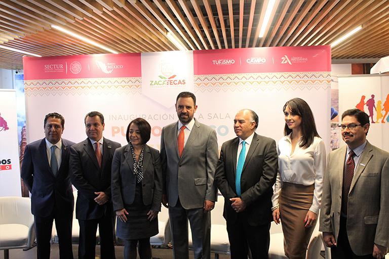 Zacatecas se promueve con expo en CDMX