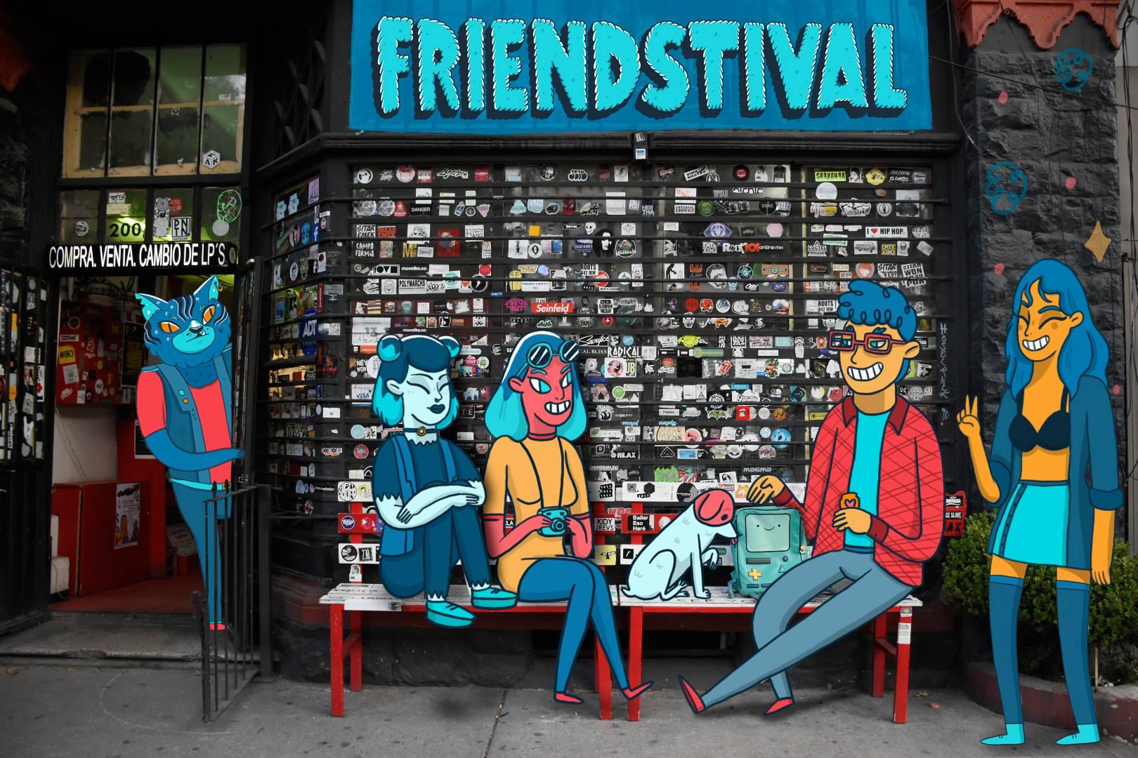 #FRIENDSTIVAL 2K17