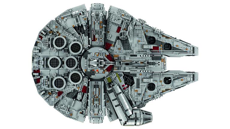 Nuevo Millennium Falcon Ultimate de Lego