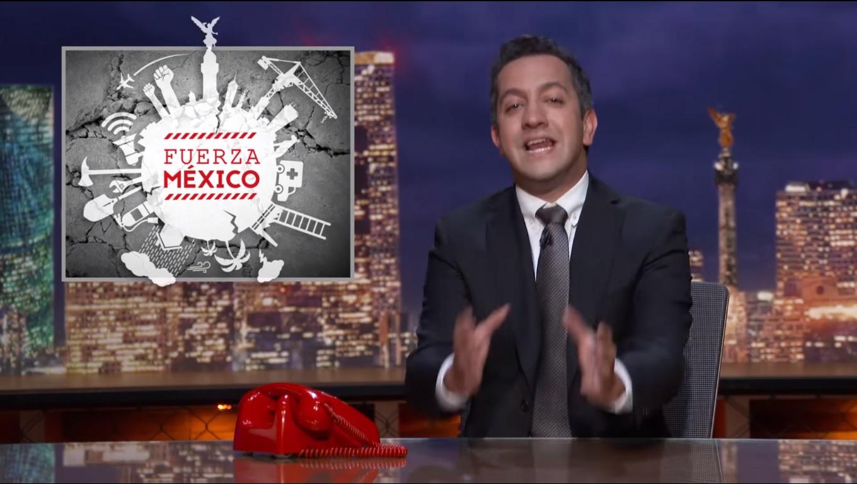 Chumel grita #FuerzaMéxico