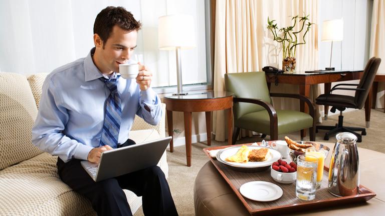 Conectividad del hotel, útil no solo para revisar Facebook