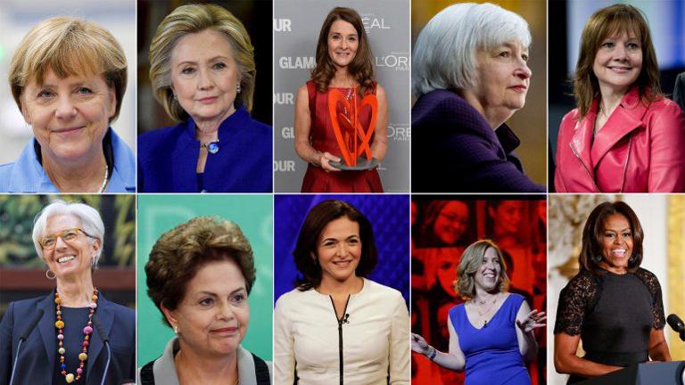 """Las 10 mujeres más poderosas del mundo en 2017, según """"Forbes"""""""