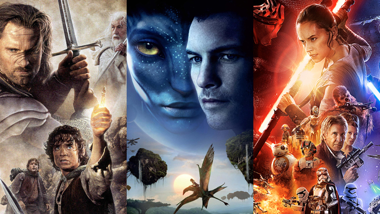 Las 10 películas más taquilleras de la historia