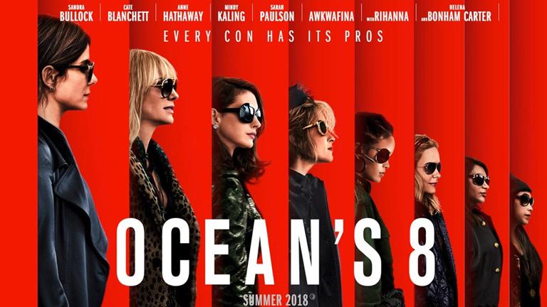 ¿Ya fueron a ver Ocean's 8: Las estafadoras?