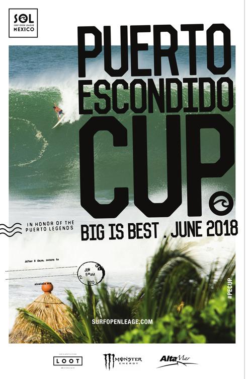 Surf: Puerto Escondido Cup 2018 ya se acerca…