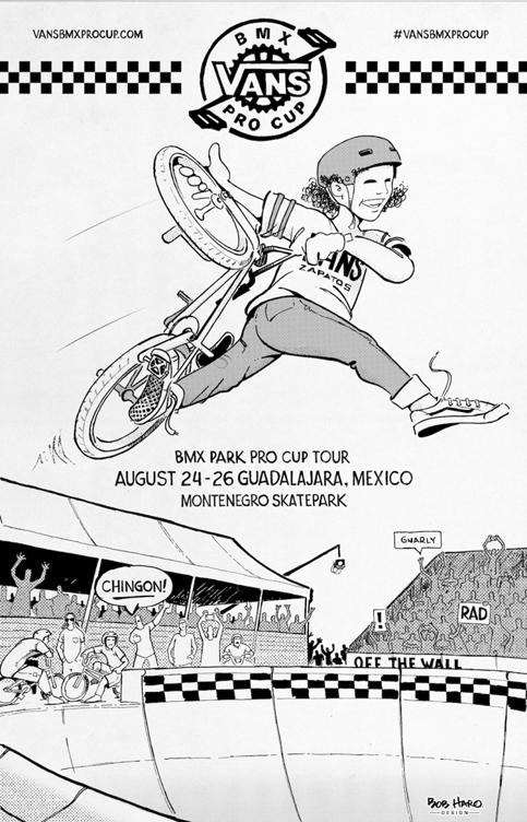 El Tour Mundial de Vans BMX Pro Cup llega por segunda ocasión a México