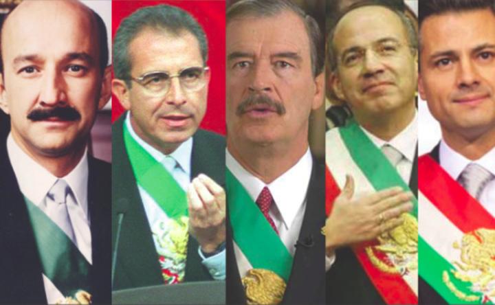 La pensiones a los ex presidentes han quedado prohibidas en México