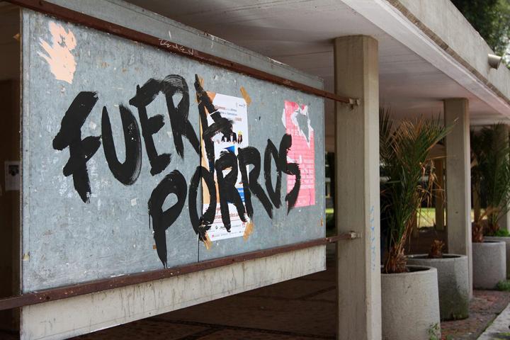 SOBRE LOS DISTURBIOS EN LA UNAM