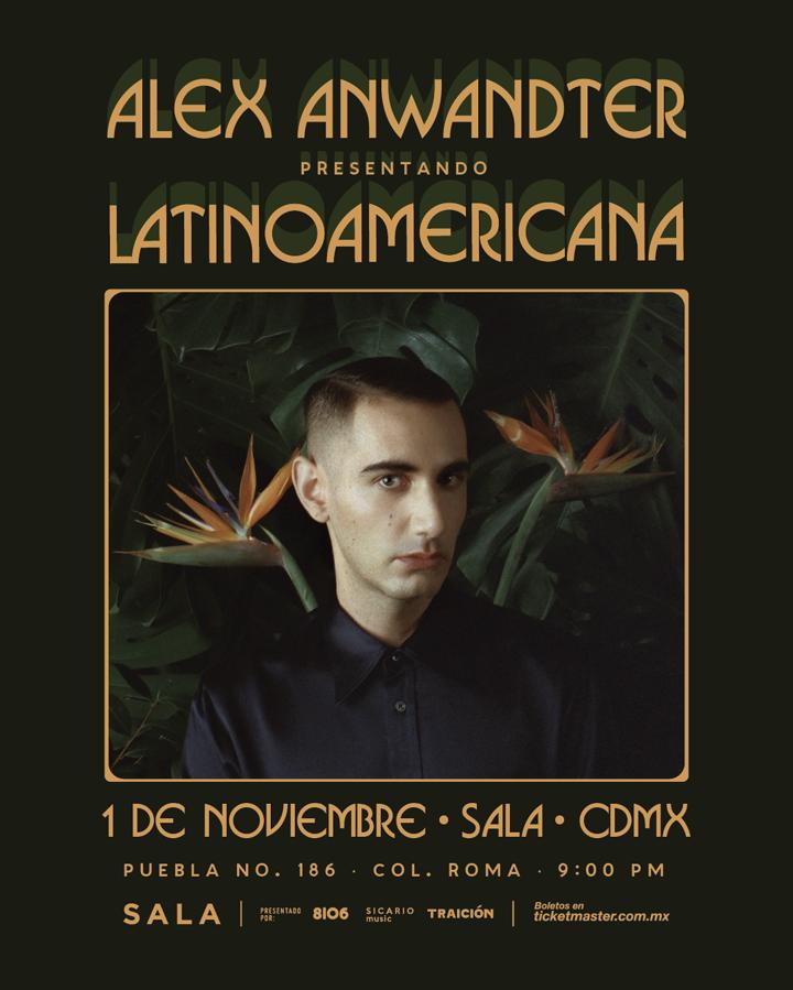 Alex Anwandter lo nuevo del indie pop latino